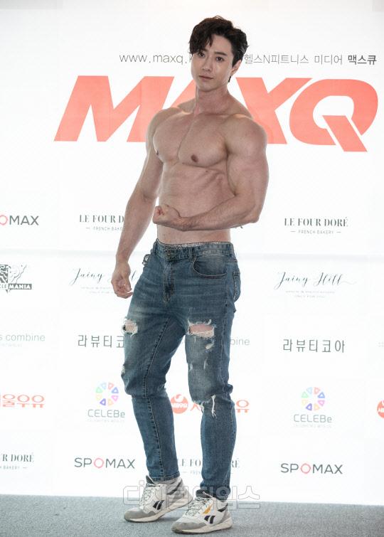 [포토] 피지크 그랑프리 김태양, 상남자의 근육